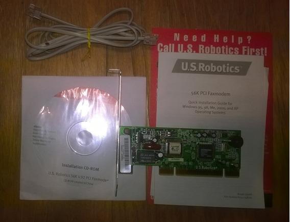 Faxmodem U.s.robotics 56k V.92 Pci 5660a