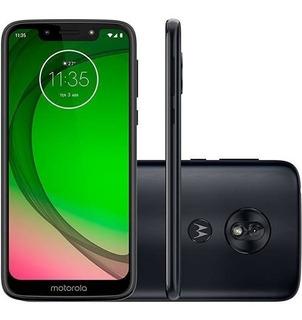 Smartphone Motorola Moto G7 Play Xt1952 32gb Índigo Novo