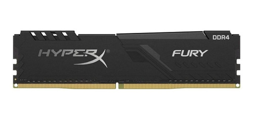 Memoria RAM Fury DDR4 gamer color Negro  8GB 1x8GB HyperX HX426C16FB3/8