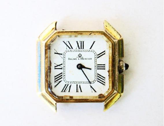 Antigo Relógio De Pulso Baume & Mercier Gold Electroplated