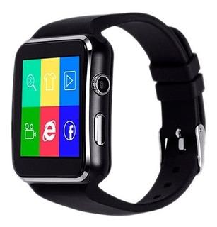 Relógio Inteligente Smartwatch X6 Android Bluetooth