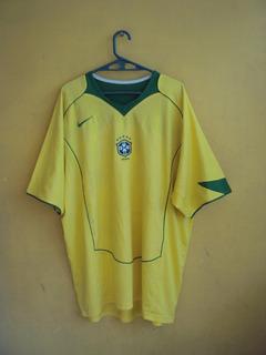 Jersey Nike Brasil 2005 Total 90 Talla Xl