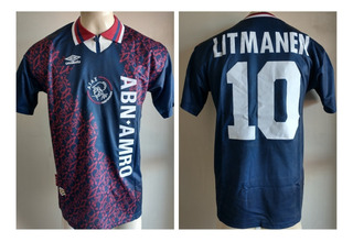 Camisa Ajax Final Champions League 1994-1995 Litmanen Umbro