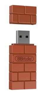 8bitdo Adaptador Inalámbrico Bt Bluetooth Para Nintendo Swi