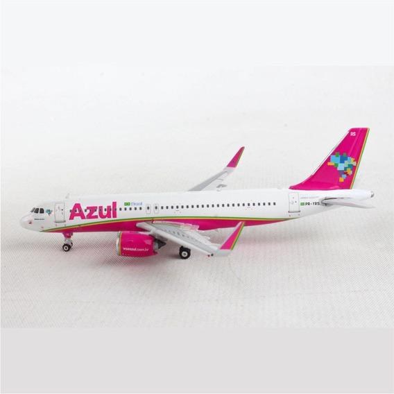 Miniatura Avião Azul A320neo 1/400 Phoenix