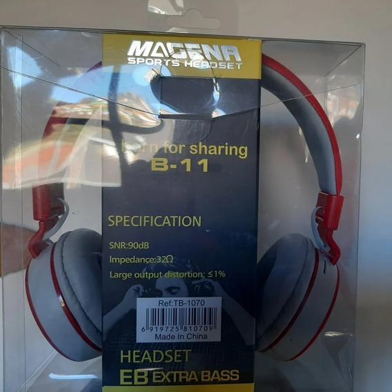 Headphone Fone De Ouvido Bluetooth Sem Fio Eb Extra Bass