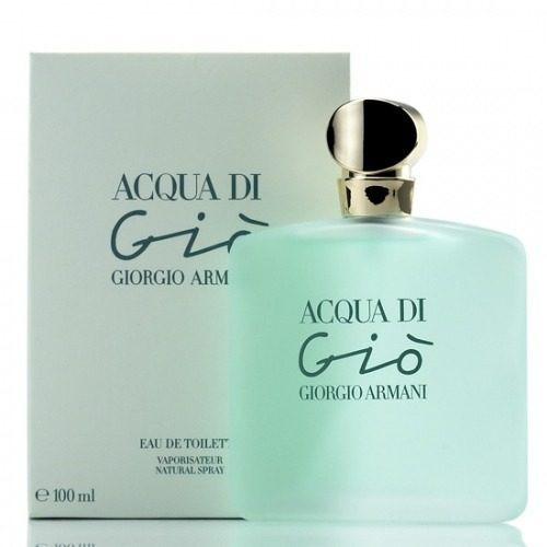 Perfume Acqua Di Gio Giorgio Armani Feminino 100ml 12x Fte G