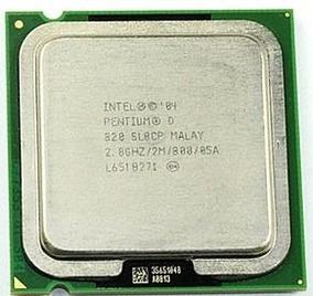 Processador Intel Pentium D 820 Sl8cp 2mb Cache2,8ghz