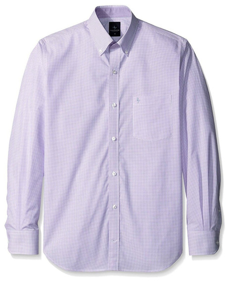 Exclusiva Camisa Tailorbyrd M Gingham Lilac