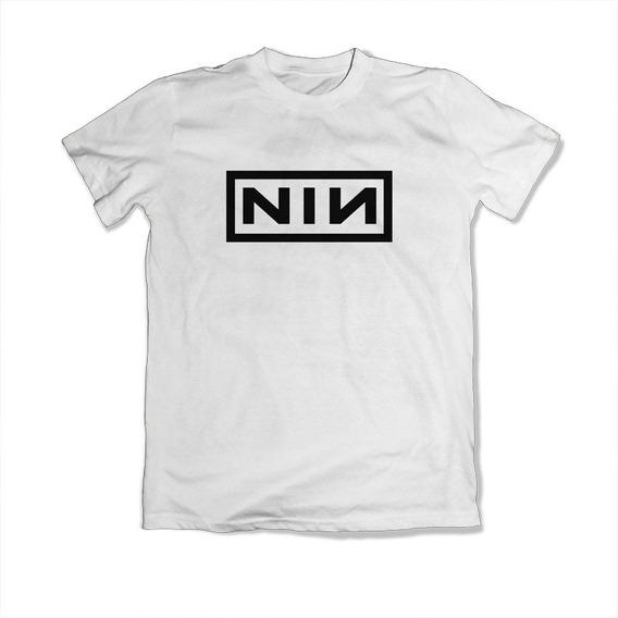 Playera Nine Inch Nails Nin 100% Algodón Envío Incluído