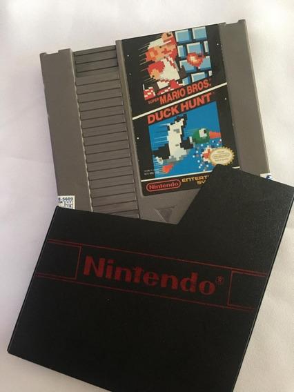 Super Mario Bros E Duck Hunt Nintendo