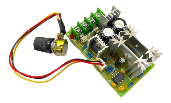 Control De Velocidad Para Motor Pwm Regulador 10-60v 20a Dc