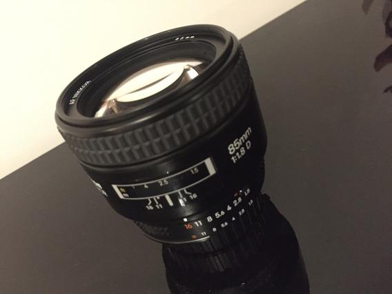 Lente Nikon 85 1.8