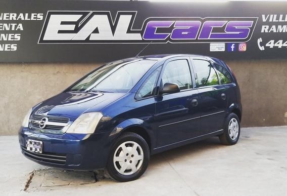 Chevrolet Meriva 1.8 Gl Plus Gnc 2007 Azul 5 Puertas