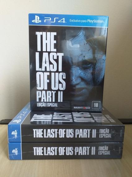 The Last Of Us: Part Il Edição Especial - Ps4   Lacrado