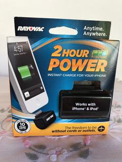 Carregador Sem Fio iPhone/iPod-rayovac- 2h Carga