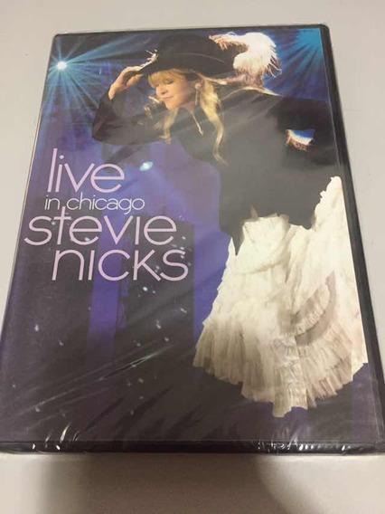 Dvd Stevie Nicks Live In Chicago Lacre Fábrica, Original,