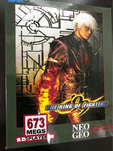 Caixa The King Of Fighters 99 Neo Geo Aes/mvs