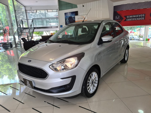Imagen 1 de 15 de Ford Figo Energy Mt 2020 14800 Km Plata 4 Puertas