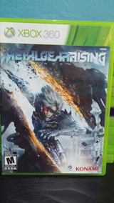 Metal Gear Rising - Xbox 360 (semi Novo)
