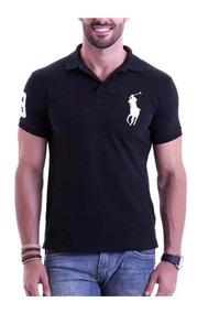 Kit 6 Camisas Camisetas Gola Pólo Masculina Atacado 2018