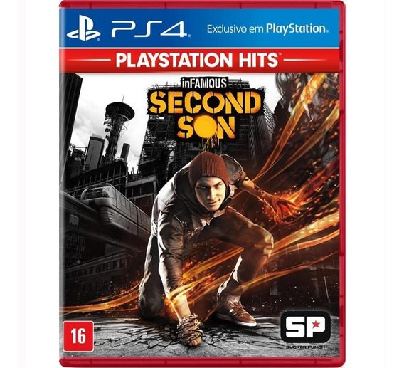 Infamous Second Son (mídia Fisica) - Ps4 (novo)