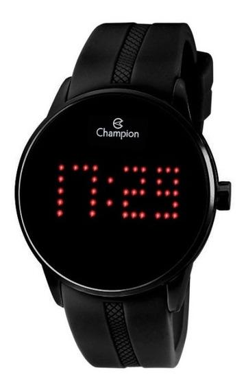 Relógio Masculino Digital Champion Ch40277d - Preto