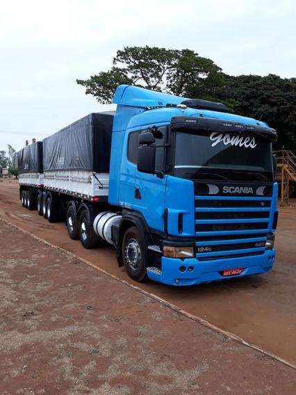 Vendo Ou Troco Scania 124 E 9 Eixo Com Pneus