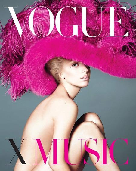 Livro Vogue X Music - Importado Inglês Capa Dura Novo