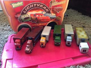 Lote De Caminhões Do Carros Disney Pixar Raros