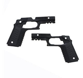 Recover Cachas Con Riel Colt Para 1911 Negro Negra