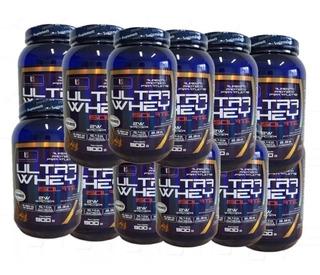 Kit 12x Whey Wey Protein Isolado Importado - Envio Imediato