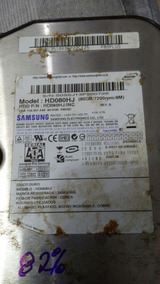 Placa Samsung Hd080hj / Inc Rev. B 80.0gb P80sd ( 00055 )