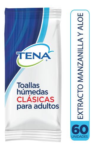 Toallas Humedas Tena Clasicas X60 - Unidad a $135