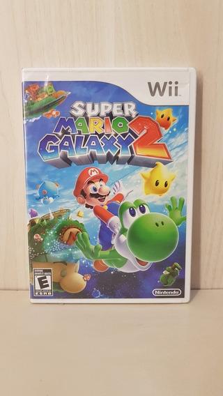 Super Mario Galaxy 2 Wii / Wii U Lacrado Versão White Label