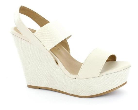 Sandalia Para Mujer Emilio Bazan Cr5066-033435 Color Beige