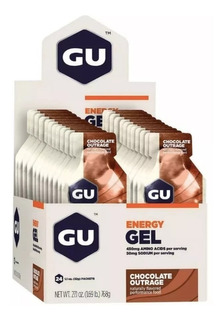 Gu Energy Gel ( Caixa 24 Sachês ) Sabores