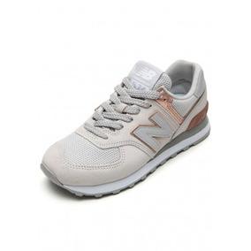 Tênis New Balance 574 Bege Wl574meb