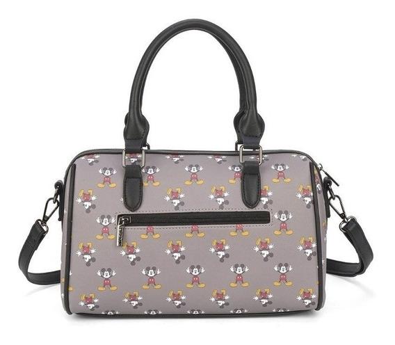 Bolsa Feminina Original Mickey Luxcel Bmk78413