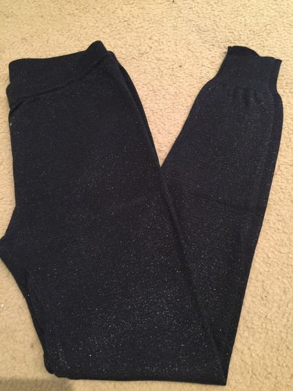 Calza Legging Tejida C Lurex