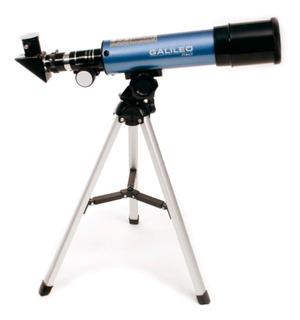 Telescopio Galileo F360x50 Refractor 270x Tripode Aluminio