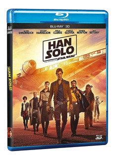Blu-ray - Han Solo - A Star Wars Story (3d)