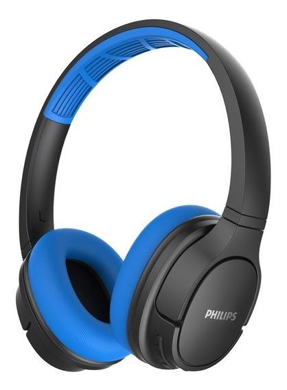 Fone Headset Philips Sport Tash402bl/00 Bluetooth Microfone