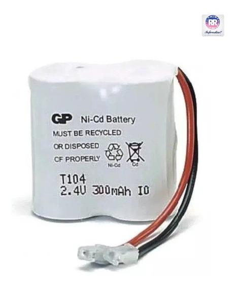 Bateria Telefone Sem Fio Gp T104 2.4v 300mah