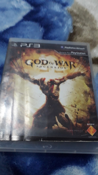 Jogo Good Of War Ascension Original Ps3