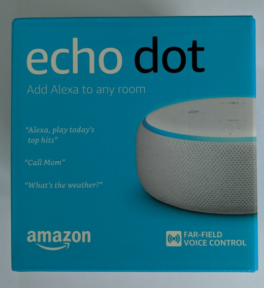 Alexa Echo Dot 3 Assistente Inteligente Da Amazon 3a Geração