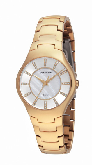 Relógio Feminino Seculus 23362lpsnds1 Black Friday