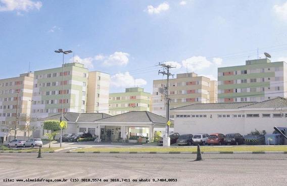 Apartamento Para Locação Em Votorantim, Parque Bela Vista, 3 Dormitórios, 1 Banheiro, 1 Vaga - Loc-589_1-858006