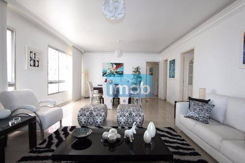 Apartamento Com 3 Dormitórios À Venda, 123 M² Por R$ 530.000,00 - Gonzaga - Santos/sp - Ap4361