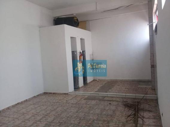 Loja Para Alugar, 64 M² Por R$ 1.800/mês - Tude Bastos (sítio Do Campo) - Praia Grande/sp - Lo0001